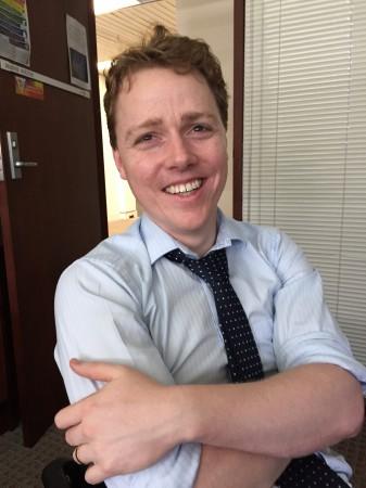 Dean Aszkielowicz  from Murdoch University in Perth Australia.