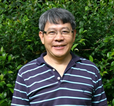 Francis Lee  from Murdoch University in Perth Australia.