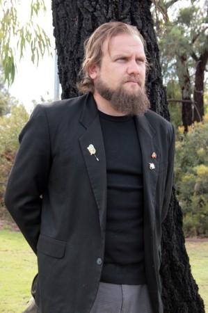 Glen Stasiuk  from Murdoch University in Perth Australia.