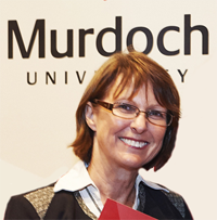 Jenni Parker  from Murdoch University in Perth Australia.