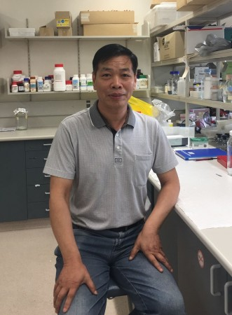 Wujun Ma  from Murdoch University in Perth Australia.